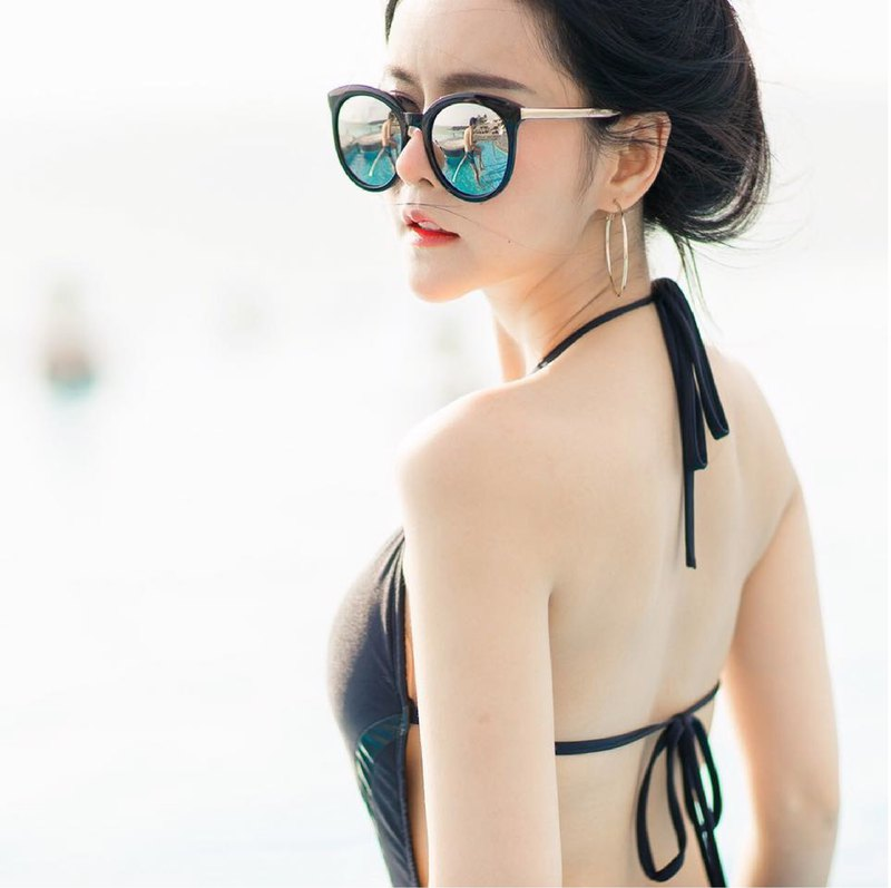 Charming Black one piece