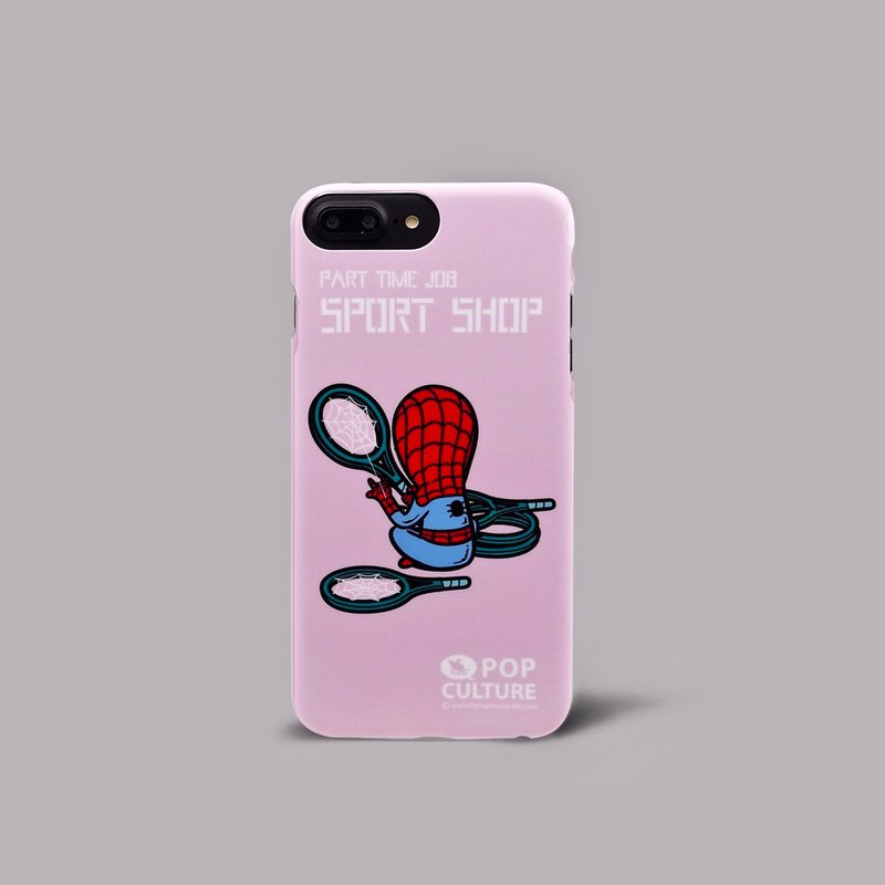 Flying Mouse 365 Design.Spider Man超薄双面印制手机壳iphone8p