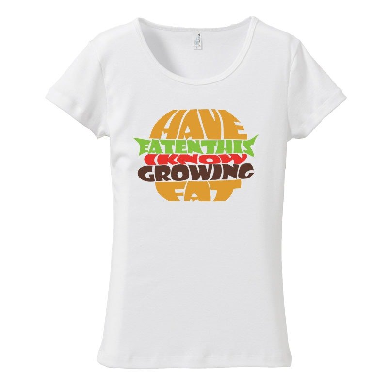 [Women's T-shirt] Calorie over