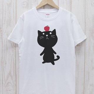 Knee Ten Zero Nyan Tee Apple (White) / RIT001 - WH