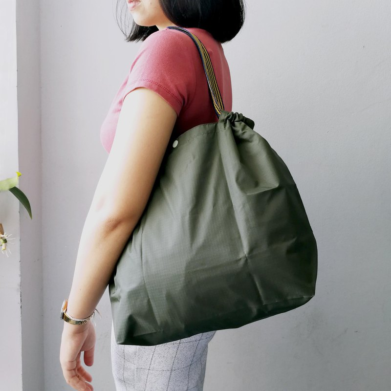 Medium Informal: R-bag Army Green  *With options for strap*