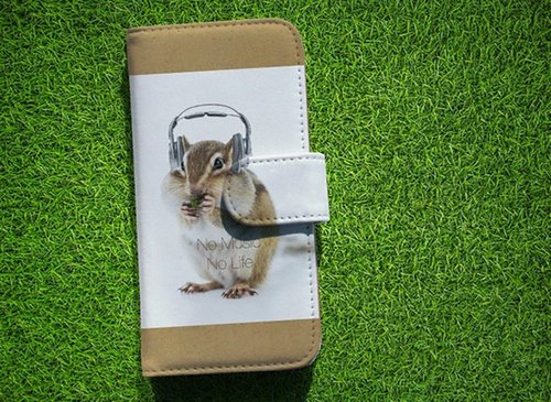 [All models corresponding Free Shipping ☆ [notebook type] Datte squirrel No Music No Life Sumahokesu
