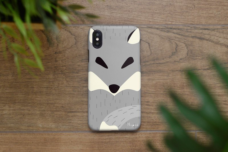 iphone case the gray fox for iphone5s,6s,6s plus, 7,7+, 8, 8+,iphone x