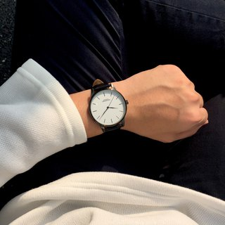 Minimal Watches - The 42 Series / Black and White