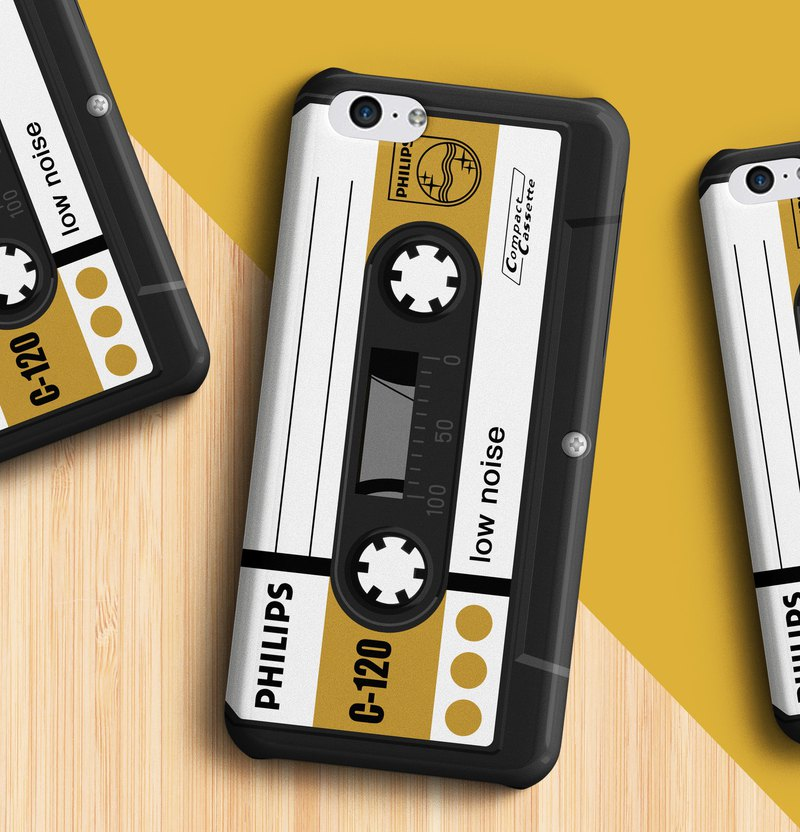Philips Cassette - Mustard Phone case