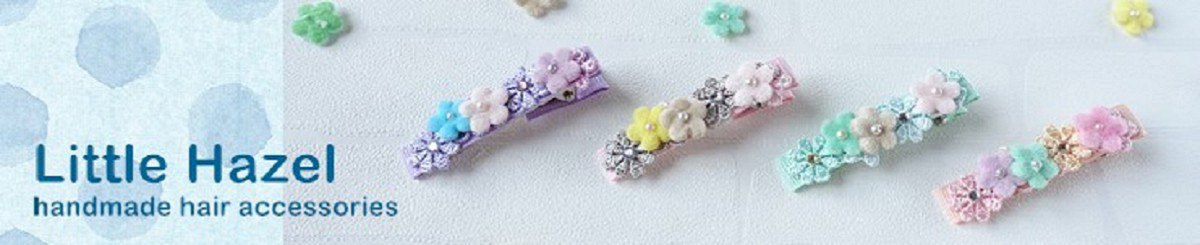 香港设计师品牌 - Little Hazel - handmade hair accessories