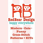 Redbear Design - Happy Everywhere - 十字绣小店